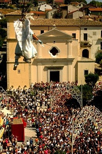 The flight of the Angel in Gesualdo