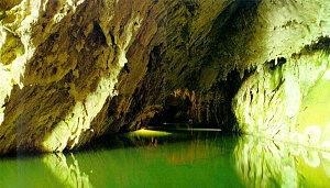 il fiume Negro nelle Grotte