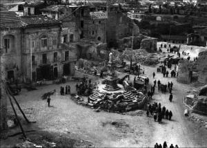 Benevento dopo i bombardamenti