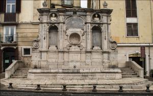 fontana dei tre cannoli