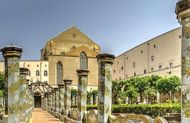 Santa Chiara a Napoli  La festa 2b6553ebd382