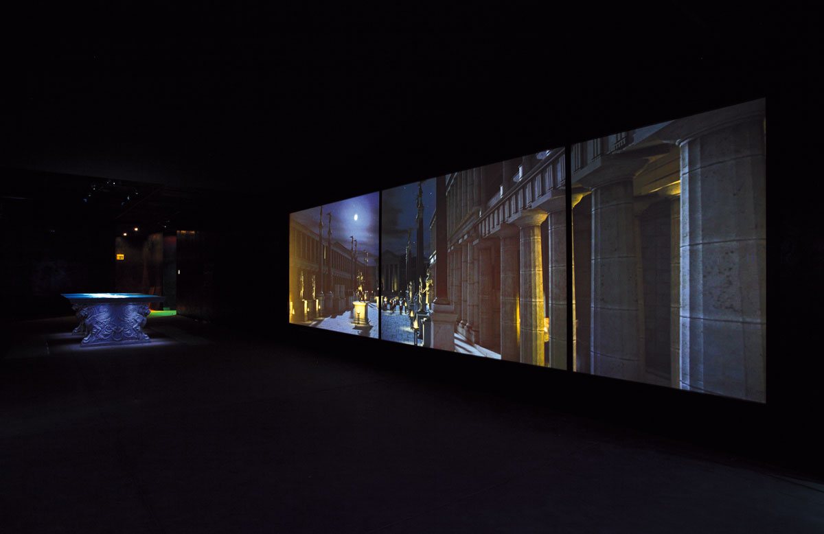 Virtual Archaeological Museum of Ercolano